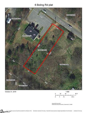 6 Boling Road, Taylors, SC 29687 (#1404367) :: Mossy Oak Properties Land and Luxury