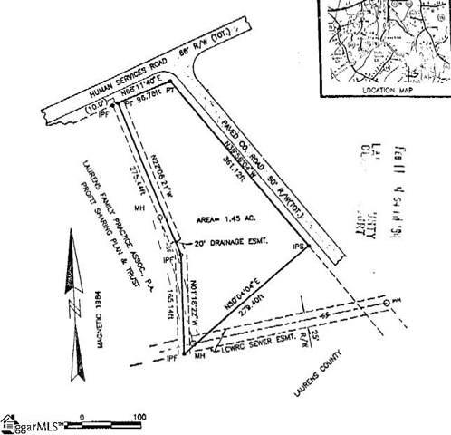 Highway 76 East Industrial Park, Clinton, SC 29615 (#1405323) :: Hamilton & Co. of Keller Williams Greenville Upstate