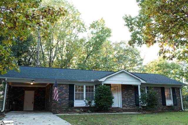 4 Alpine Drive, Taylors, SC 29687 (#1406131) :: Coldwell Banker Caine