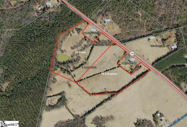 00 Highway 28, abbeville, SC 29620 (MLS #1407657) :: Prime Realty