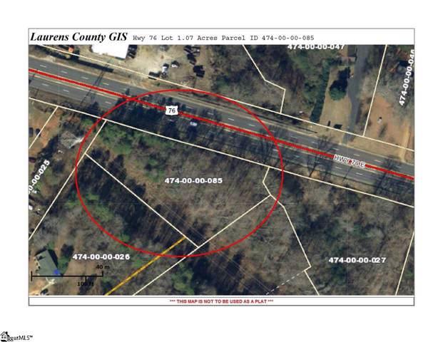 Us-76 E Highway, Laurens, SC 29360 (#1408801) :: Hamilton & Co. of Keller Williams Greenville Upstate