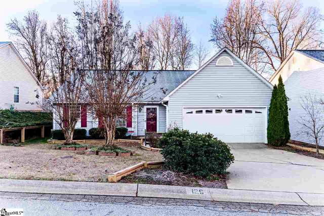 129 W Long Creek Court, Simpsonville, SC 29680 (#1408945) :: Connie Rice and Partners