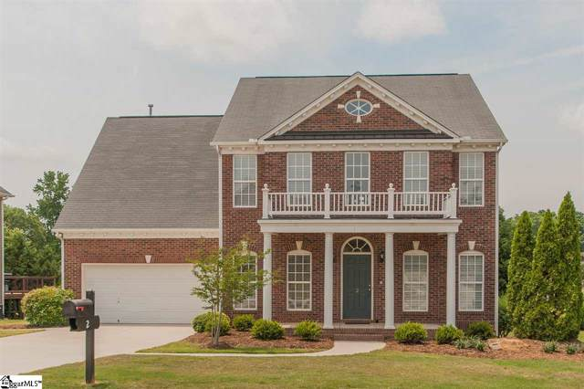 2 Cabrini Court, Simpsonville, SC 29680 (#1409827) :: RE/MAX RESULTS