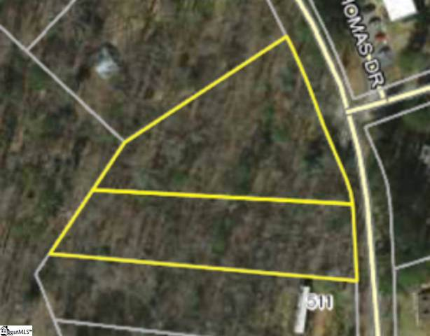 00 Thomas Road, Pickens, SC 29671 (MLS #1409969) :: Resource Realty Group