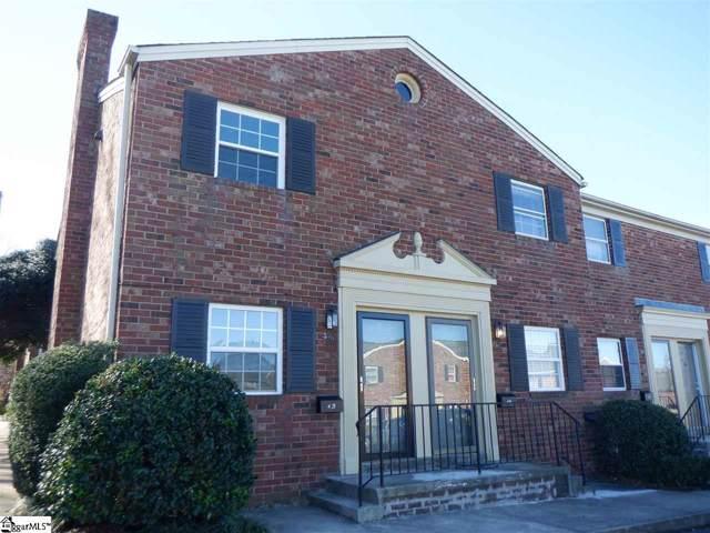 2530 E North Street Unit 4A, Greenville, SC 29615 (#1410385) :: J. Michael Manley Team