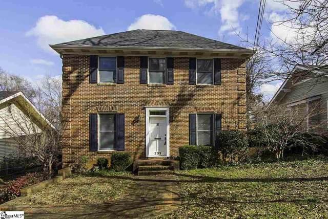 233 N Fairview Avenue, Spartanburg, SC 29302 (#1410447) :: Coldwell Banker Caine