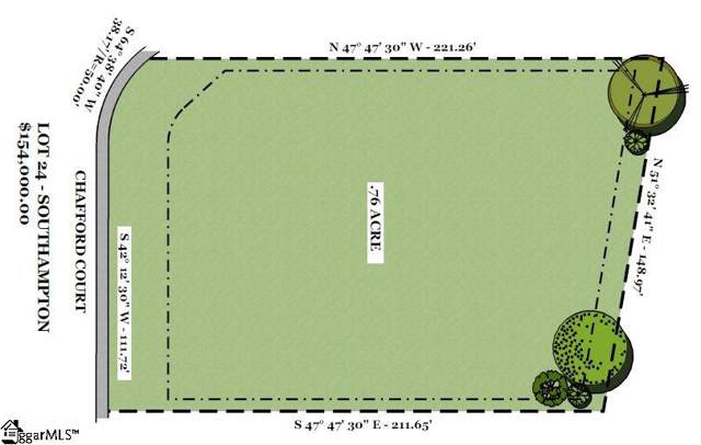 304 Chafford Court, Simpsonville, SC 29681 (#1410881) :: Green Arc Properties