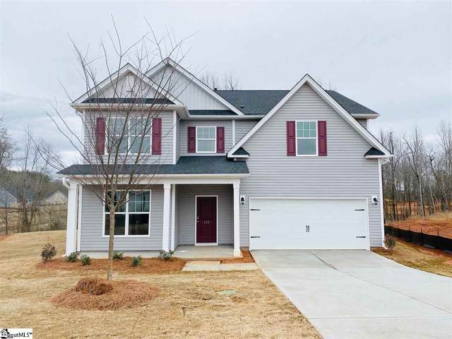412 Stanwood Place Homesite 78, Boiling Springs, SC 29316 (#1412132) :: Hamilton & Co. of Keller Williams Greenville Upstate