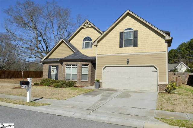 608 Powdermill Drive, Simpsonville, SC 29681 (#1412268) :: Connie Rice and Partners