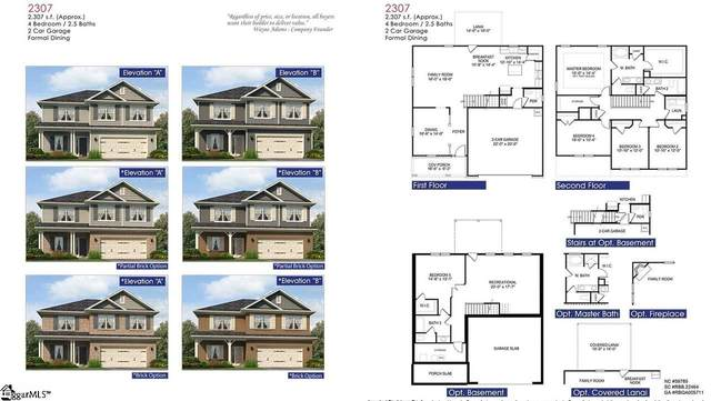 19 Starlight Drive Lot 179, Greenville, SC 29605 (#1412487) :: The Toates Team