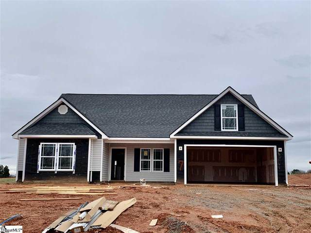 1406 Satterfield Drive Lot 7, Greer, SC 29651 (#1412797) :: Coldwell Banker Caine