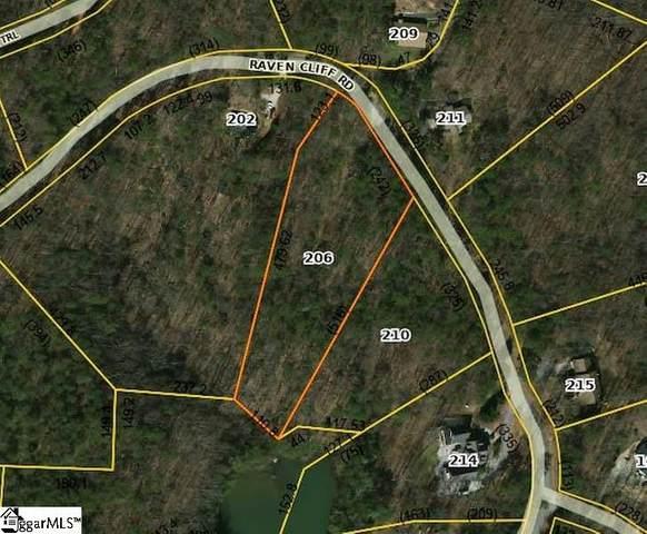 206 Raven Cliff Road, Cleveland, SC 29635 (#1414514) :: Hamilton & Co. of Keller Williams Greenville Upstate
