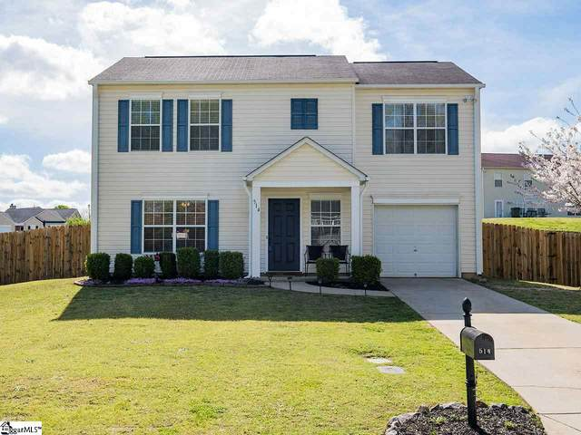 514 Fountainbrook Lane, Fountain Inn, SC 29644 (#1415000) :: Coldwell Banker Caine