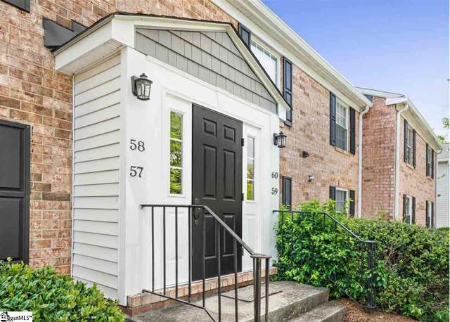 925 Cleveland Street Unit 58, Greenville, SC 29601 (#1415335) :: The Toates Team