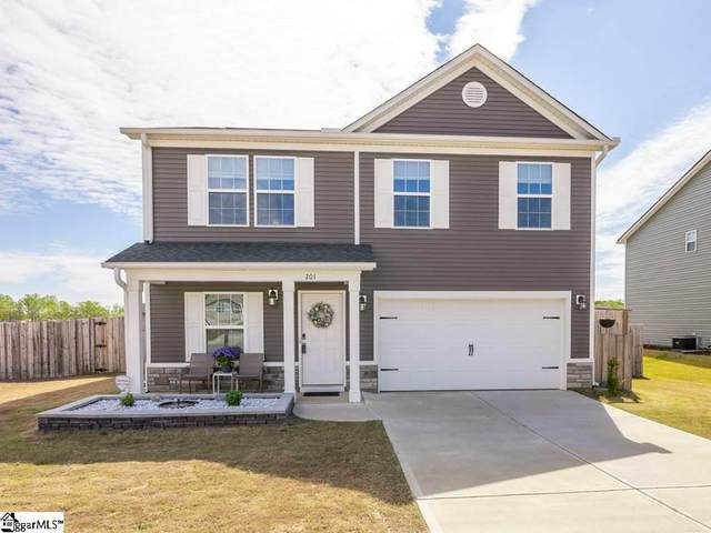 201 Barred Owl Drive, Fountain Inn, SC 29644 (#1415542) :: Parker Group