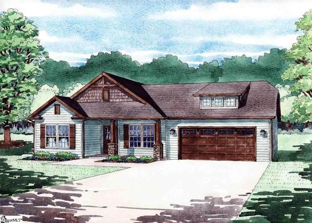 727 West Gap Creek Road Lot 34, Greer, SC 29651 (#1417380) :: Hamilton & Co. of Keller Williams Greenville Upstate