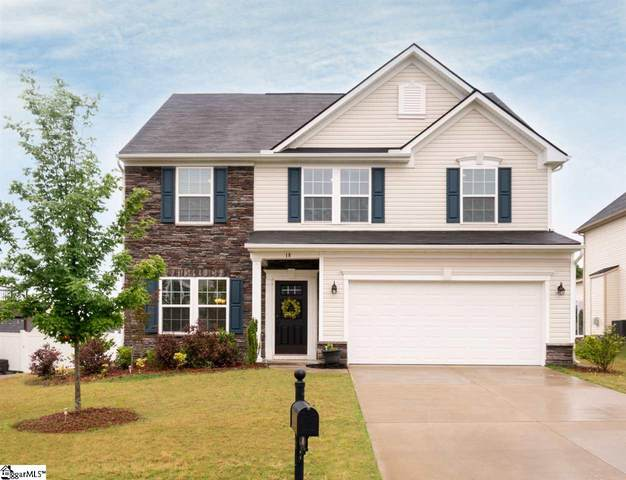 18 Barlow Court, Simpsonville, SC 29681 (#1418699) :: J. Michael Manley Team
