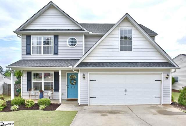 116 Haven Reach Way, Taylors, SC 29687 (#1418858) :: Coldwell Banker Caine