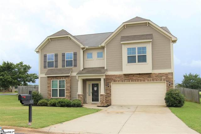 103 Castleton Circle, Boiling Springs, SC 29316 (#1421952) :: The Toates Team