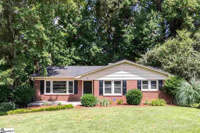 9 Conway Drive, Greenville, SC 29615 (MLS #1422460) :: Resource Realty Group