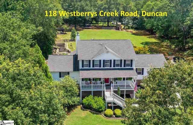 118 Westberrys Creek Road, Duncan, SC 29334 (#1422494) :: Coldwell Banker Caine