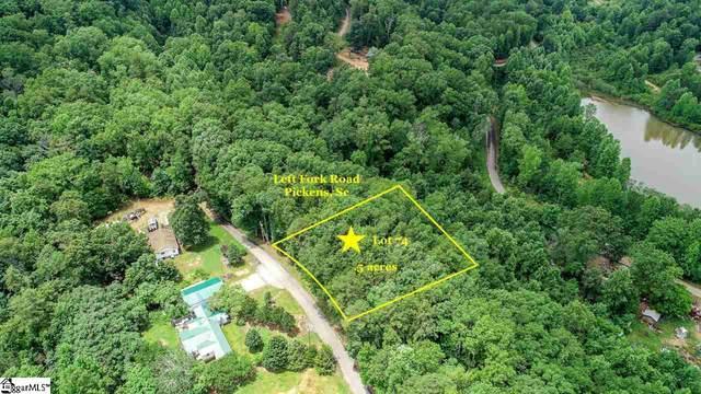 Left Fork Road, Pickens, SC 29671 (#1422721) :: J. Michael Manley Team