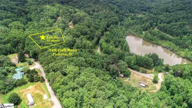 Left Fork Road, Pickens, SC 29671 (#1422722) :: J. Michael Manley Team