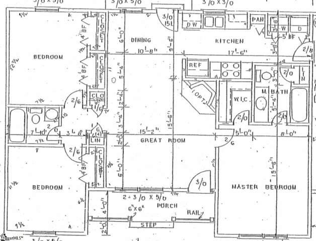58 Old Homestead Road, Greenville, SC 29611 (#1423796) :: Hamilton & Co. of Keller Williams Greenville Upstate