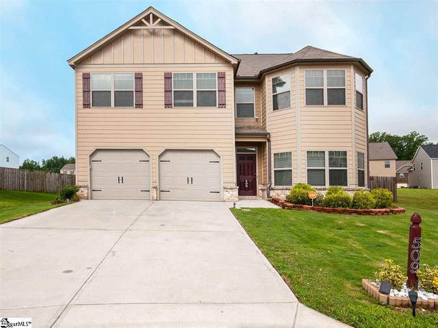 509 Grace Hill Place, Simpsonville, SC 29681 (#1423966) :: The Haro Group of Keller Williams