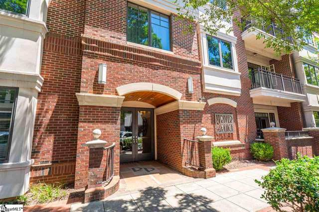 155 Riverplace Street Unit #109, Greenville, SC 29601 (MLS #1424509) :: Prime Realty