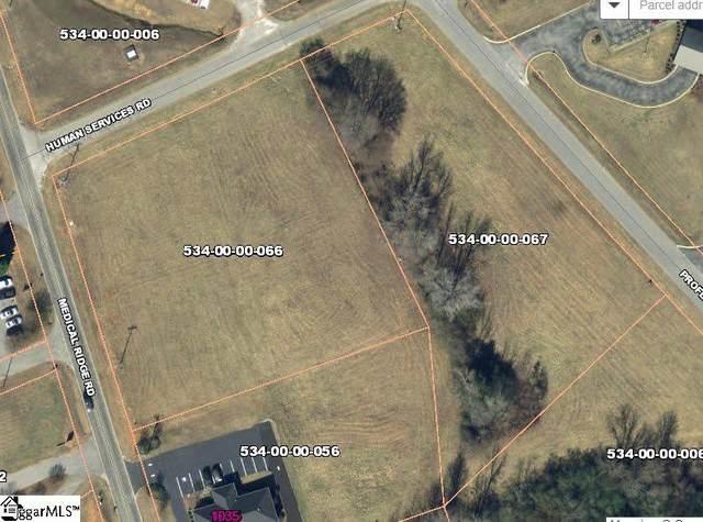 0 Medical Ridge And Human Services Road, Clinton, SC 29325 (#1425441) :: Hamilton & Co. of Keller Williams Greenville Upstate