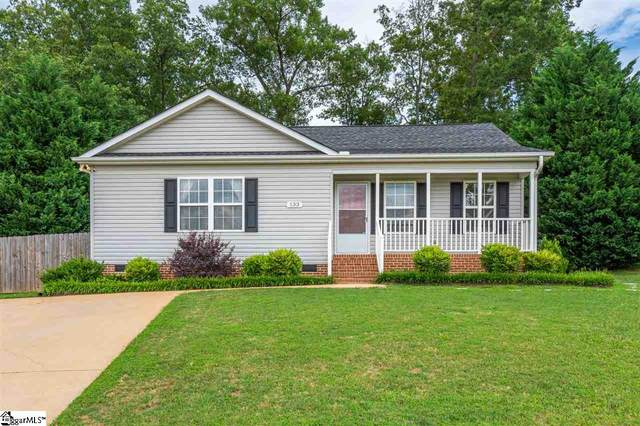 133 S Manley Drive, Taylors, SC 29687 (#1425839) :: The Haro Group of Keller Williams