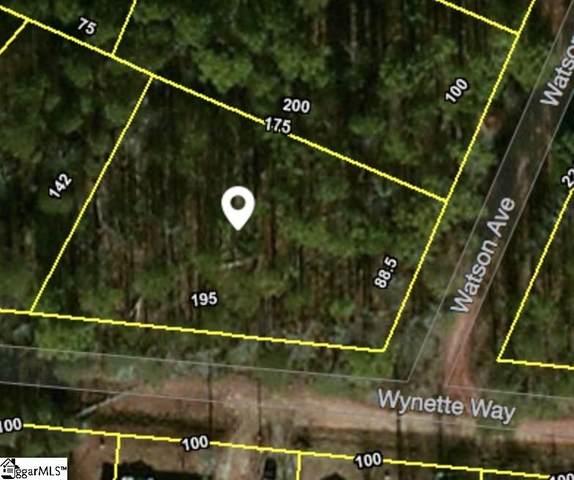 166 Watson Avenue, Boiling Springs, SC 29349 (#1425949) :: Hamilton & Co. of Keller Williams Greenville Upstate