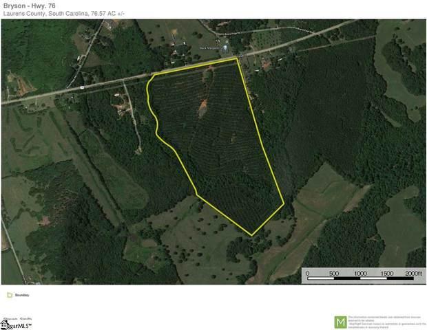 00 W 76 Highway, Honea Path, SC 29654 (MLS #1427207) :: Resource Realty Group