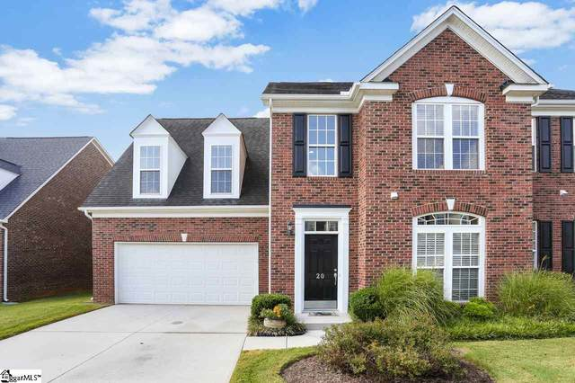 20 Everleigh Court, Simpsonville, SC 29681 (#1427254) :: Parker Group