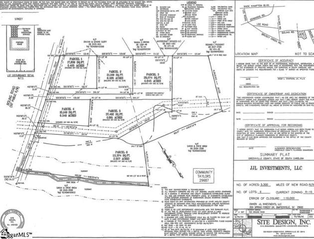723e Boling Road, Taylors, SC 29687 (#1427736) :: Mossy Oak Properties Land and Luxury