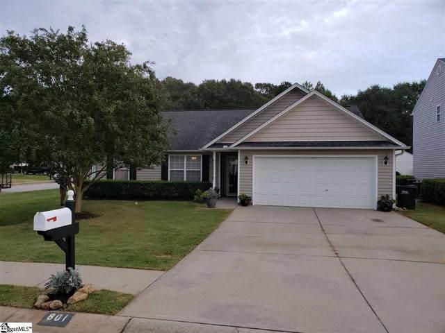801 Barn Swallow Drive, Simpsonville, SC 29680 (MLS #1427998) :: Prime Realty
