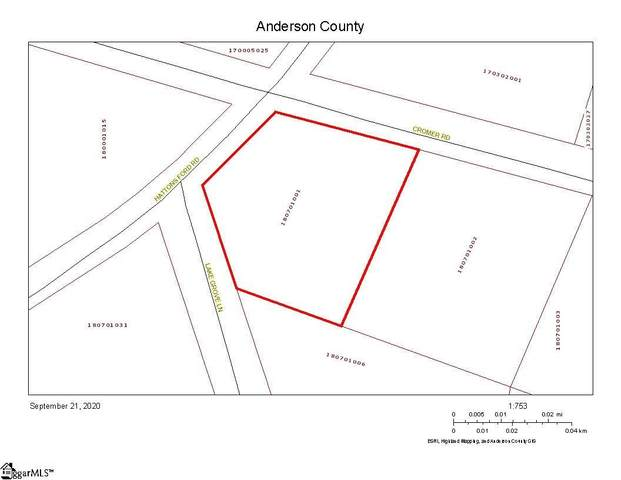1 Cromer Road, Townville, SC 29689 (#1428224) :: Hamilton & Co. of Keller Williams Greenville Upstate