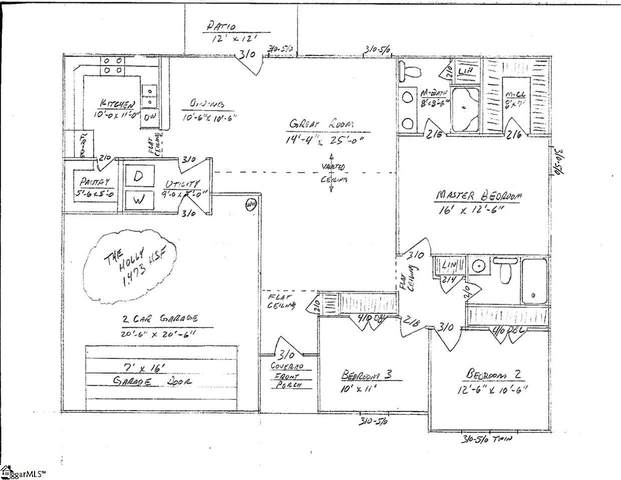 325 W Mill Street Lot 10, Gray Court, SC 29645 (#1428516) :: J. Michael Manley Team