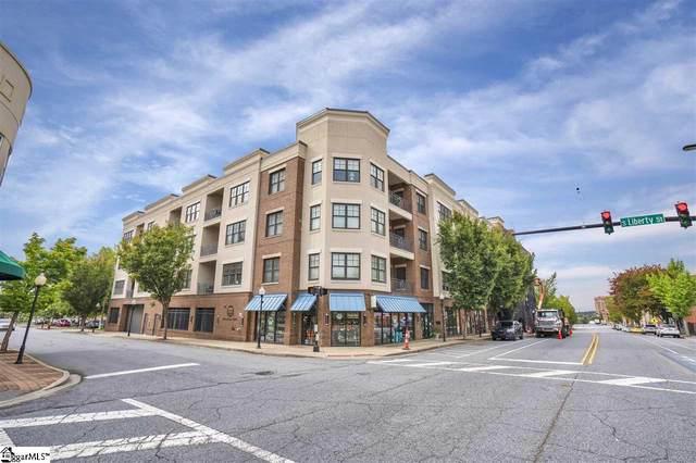 155 E Broad Street Unit 416, Spartanburg, SC 29306 (#1428583) :: Parker Group