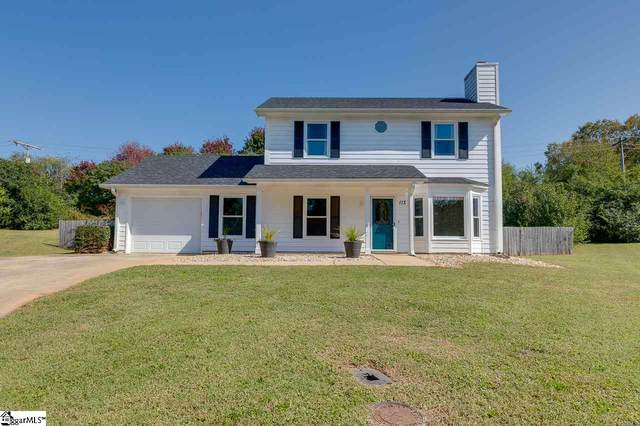 113 Wickersham Drive, Simpsonville, SC 29681 (#1429069) :: DeYoung & Company