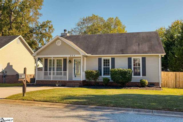202 Autumnwood Way, Simpsonville, SC 29681 (#1429800) :: Hamilton & Co. of Keller Williams Greenville Upstate