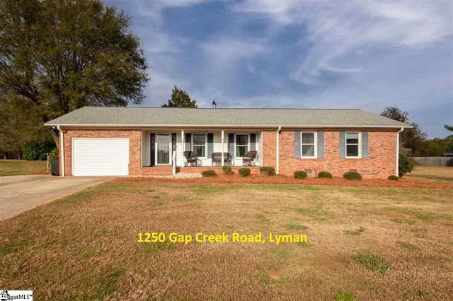 1250 Gap Creek Road, Lyman, SC 29365 (#1430942) :: Hamilton & Co. of Keller Williams Greenville Upstate