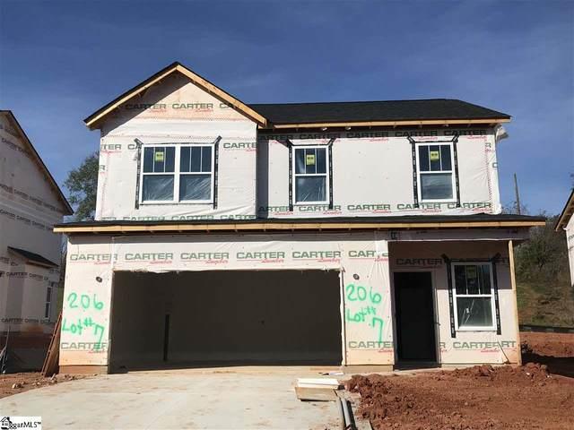 206 Rosewood Circle, Duncan, SC 29334 (#1432533) :: Green Arc Properties