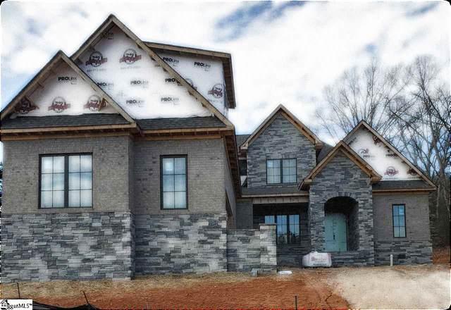 126 Chestnut Pond Lane Lot 11, Simpsonville, SC 29681 (#1436370) :: Green Arc Properties