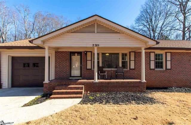 220 Barry Drive, Greer, SC 29650 (#1436487) :: Hamilton & Co. of Keller Williams Greenville Upstate