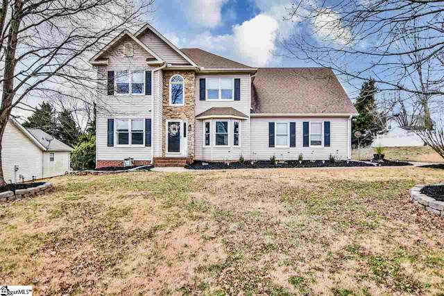 4 Meadow Ridge Drive, Greer, SC 29651 (#1436490) :: Coldwell Banker Caine
