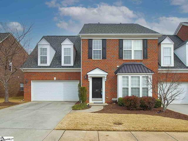 27 Everleigh Court, Simpsonville, SC 29681 (#1436811) :: DeYoung & Company