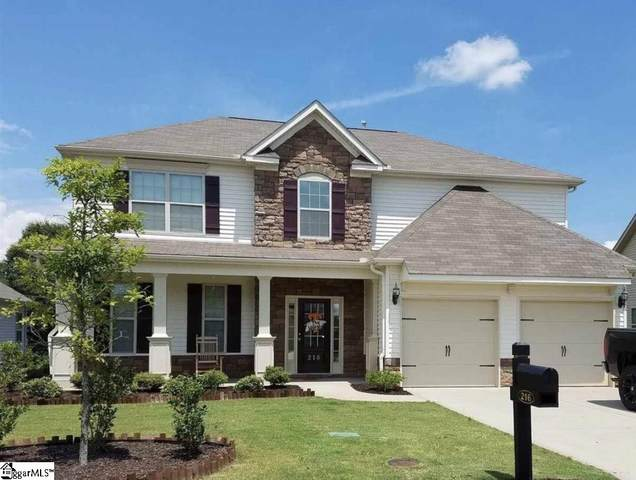 216 Heathbury Court, Simpsonville, SC 29681 (#1437438) :: The Haro Group of Keller Williams