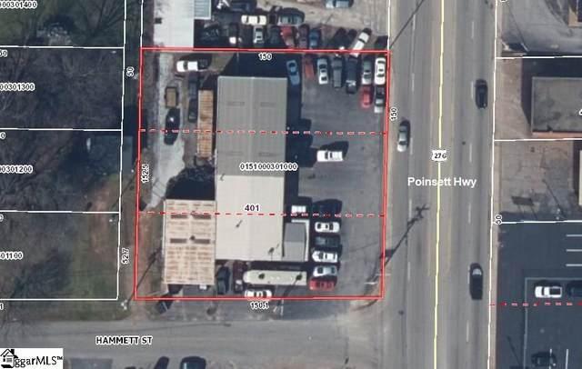 401 Poinsett Highway, Greenville, SC 29609 (#1437440) :: Hamilton & Co. of Keller Williams Greenville Upstate